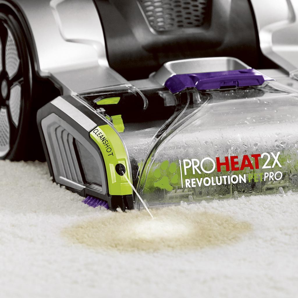 Rug Doctor Deep Carpet Cleaner Vs Bissell Proheat 2x Revolution: Bissell ProHeat 2X Revolution Pet Pro Full-Size Carpet
