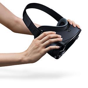 Samsung Sm R325 Gear Vr Mit Controller Orchid Grau Elektronik