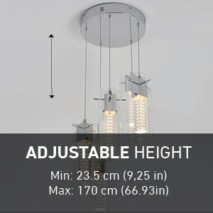 ajustable pendant light