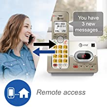 remote access to messages