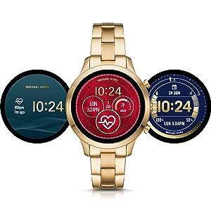 Michael Kors, Kors, MK, acesso de Michael Kors, relógio esperto, Smartwatch, relógio de Apple, acesso de MK, relógio