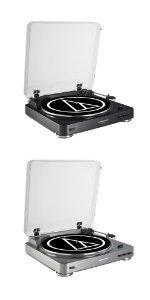 Amazon.com: Audio-Technica AT-LP60BK Fully Automatic Belt ...