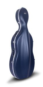 Amazon.com: Crossrock CRA860CEFBL ABS Molded Cello Case with ...