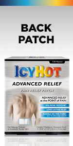 Icy Hot Back Patch For Lower Back Pain