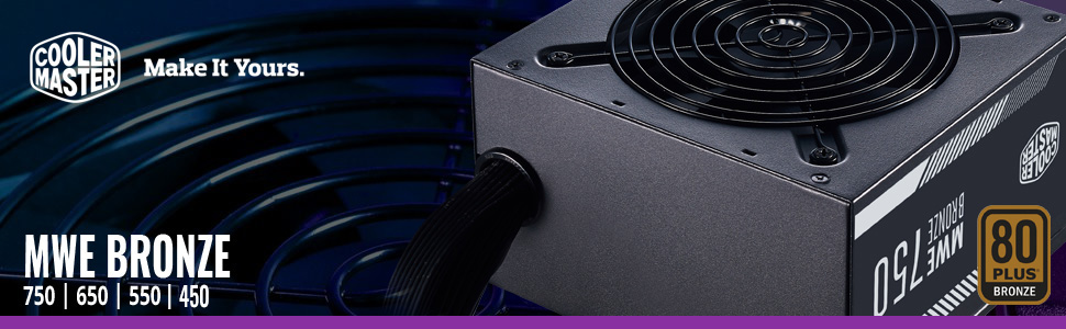 Cooler Master MWE Bronze-v2 Power Supply