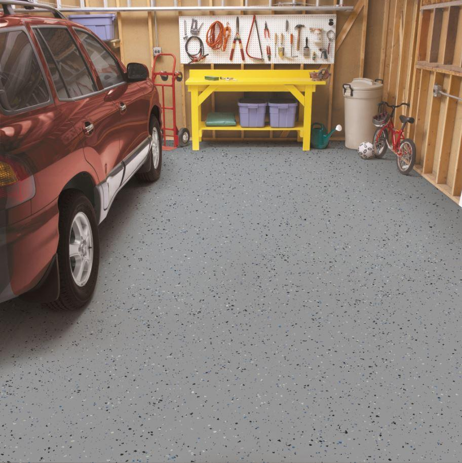 Amazon Com Rust Oleum 261845 Epoxyshield Garage Floor Coating 2
