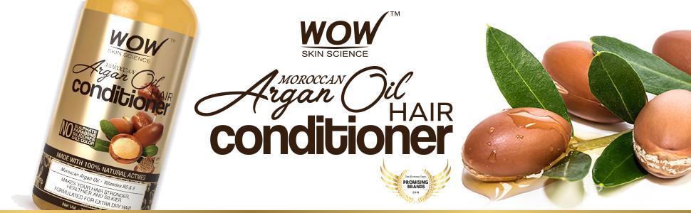 WOW SKIN SCIENCE MOROCCAN ARGAN OIL HAIR CONDITIONER