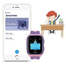 Amazon.com: Reloj inteligente OJOY 4G LTE para niños con ...