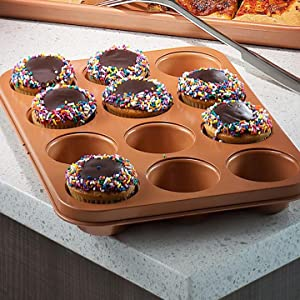 Brooklyn Brownie Copper By Gotham Steel Nonstick Baking