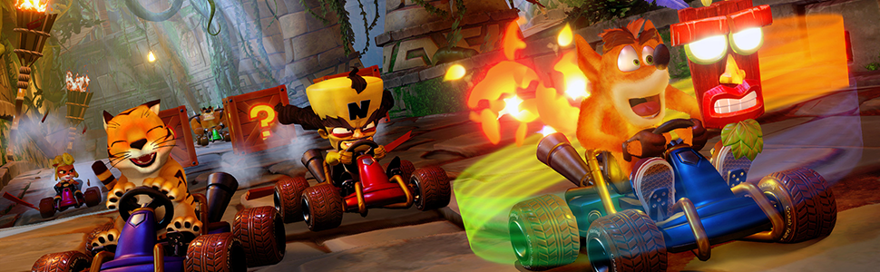 Crash Team Racing, CTR, Crash Bandicoot, Racing