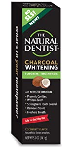 the natural dentist charcoal toothpaste fluoride