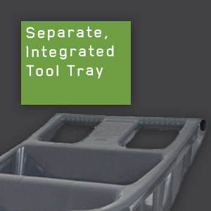ames, tools, yard cart, garden cart, tool tray, large capacity, lawn and garden, Easy Roller