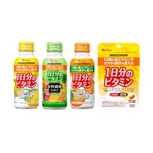 1日分のビタミン マルチビタミン PERFECTVITAMIN ビタミンC ビタミンA ビタミンE 食事バランス 栄養バランス 栄養補給 体調管理 健康管理 風邪対策 ハウス ハウスウェルネスフーズ