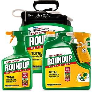Roundup - Herbicida de acción rápida listo para usar