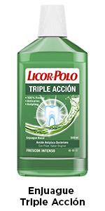 Licor del Polo Enjuague bucal Sin Alcohol - 6 x 500 ml, Total ...