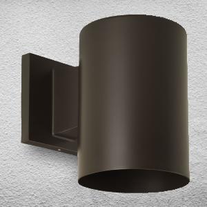 wall cylinder interior exterior light lighting contemporary modern downlight up light uplights