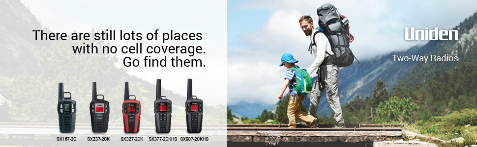 uniden walkie talkie