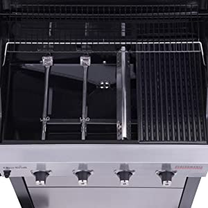 porcelain,grates,coated,stainless,steel,burners,heat,tent,tents,grates,cast,iron,heat,retention,gas