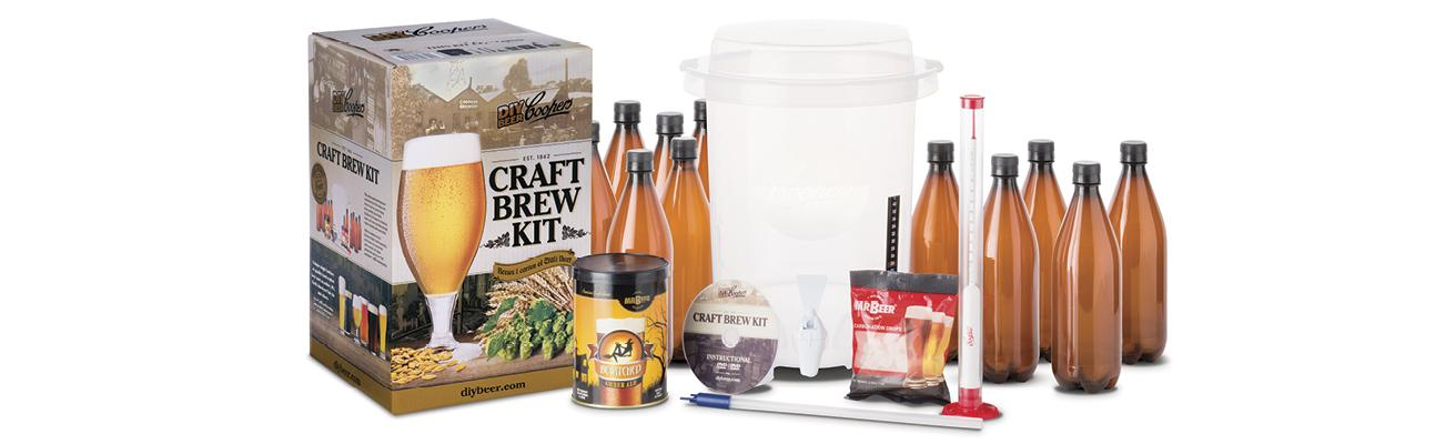Coopers diy beer home brewing 2 gallon craft for Craft beer brewing kit