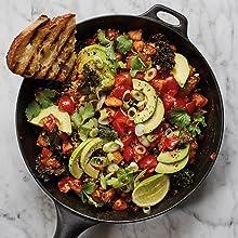 Bish, Bash, Bosh, Plants, salad, avocado