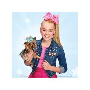 Amazon Com Nickelodeon Jojo Siwa Bowbow The Dog Plush 17 Pillow