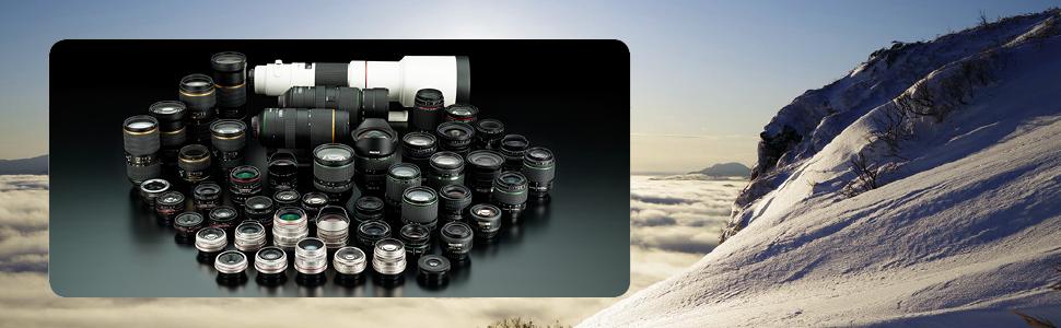 Pentax lens lineup