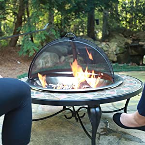 Amazon Com Catalina Creations 31 Quot Heavy Duty Fire Pit