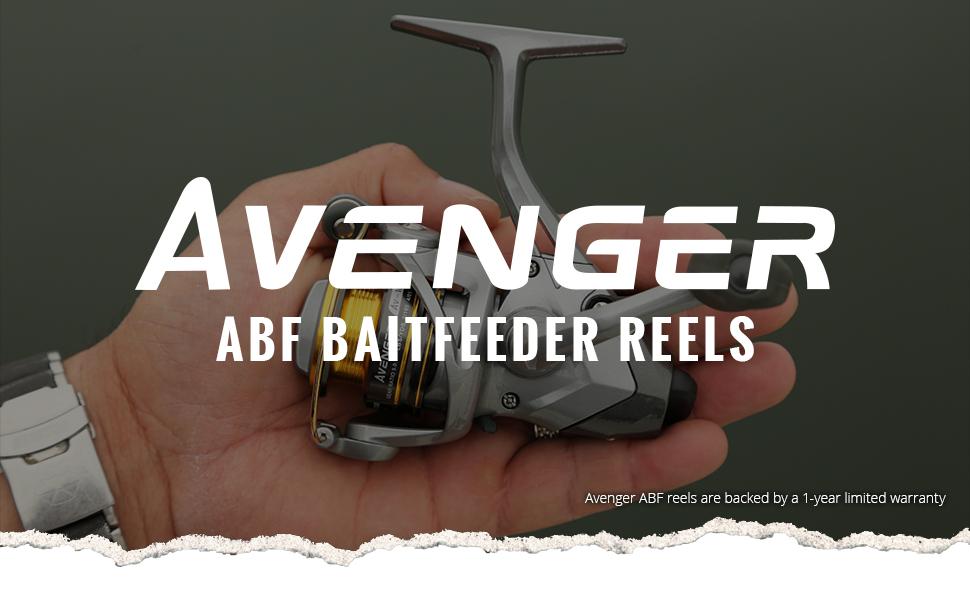 Okuma Fishing USA - New Avenger ABF Baitfeeder Reel Header Image