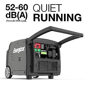 eZV3200P, quiet, inverter, generator, run,