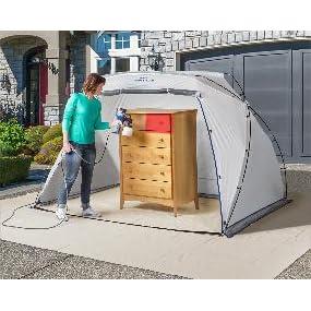 portable spray shelter, spray tent, spray booth