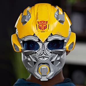 Brand New Bumblebee// Autobot Transformers Voice Changer Mask The Last Knight