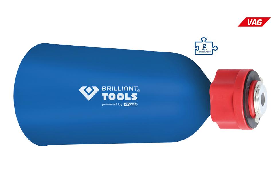 Brilliant Tools Bt711130 Öleinfülltrichter Mit Adapter Für Vag Powered By Ks Tools Auto