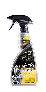 Aluminum Rim Cleaner, Aluminum Tire Shine, Heavy Metal Cleaner, No Scratch, Upkeep
