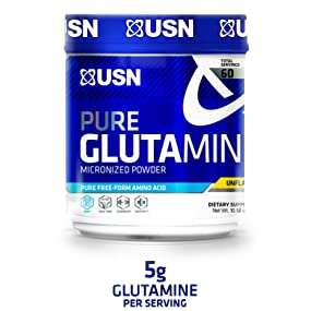 USN Pure Glutamine Micronized Powder