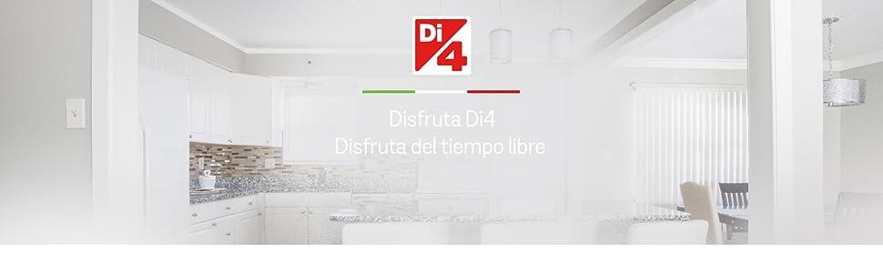 Di4 Quattro Mix 800 - Batidora de Varilla, 800W, 20 Velocidades ...
