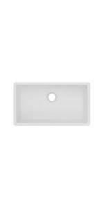 ELGRU13322WH0 elkay quartz classic kitchen sink