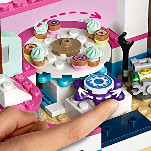 LEGO, Friends, cooking, toy