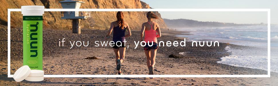 If you sweat, you need nuun