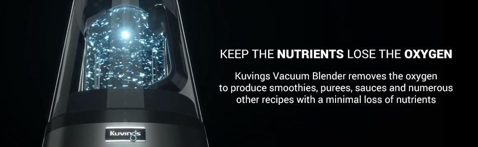 Amazon.com: Kuvings sv500b aspiradora Licuadora, color negro ...