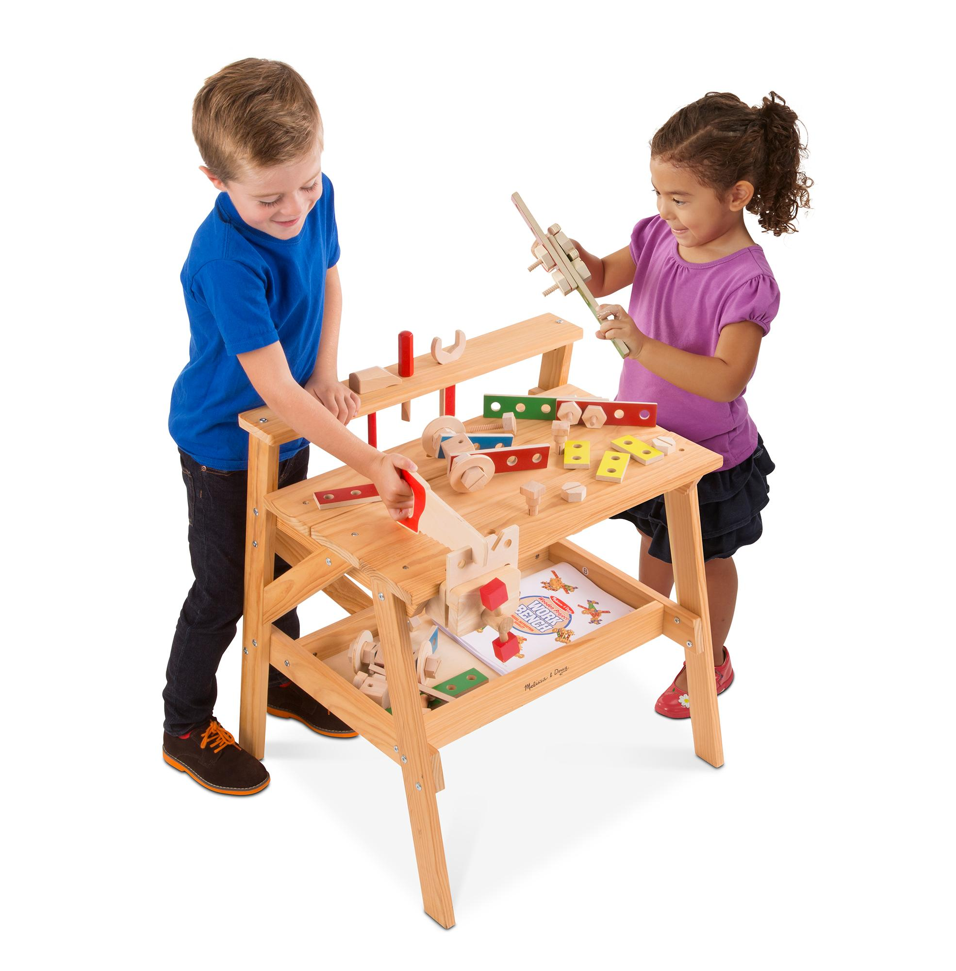 100 bosch toy work bench musical learning pretend play tool