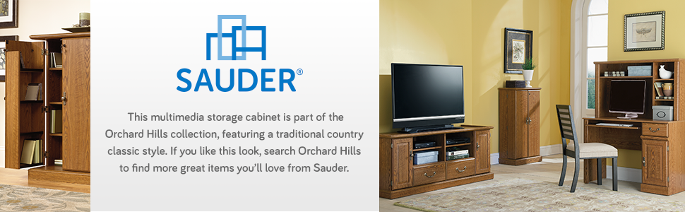 from the - Sauder Storage Cabinet