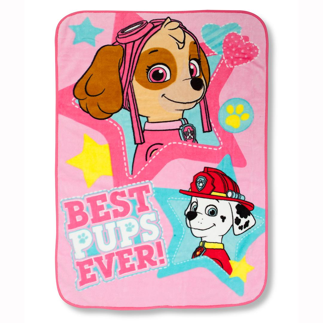Paw Patrol Skye Best Pups Ever 4 Piece Toddler Bed Set