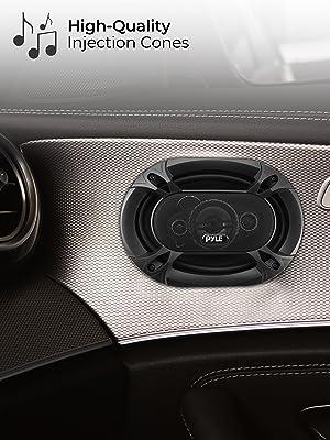 "4-Way Universal Car Stereo Speakers - 500W 6x9"" Quadraxial Loud Pro Audio Car Speaker Universal OEM"