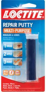 Loctite 1999131 All Purpose Repair Putty 2 Ounces Tile