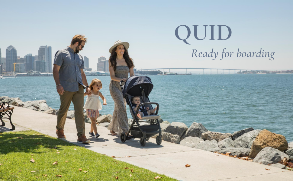 Inglesina Quid Stroller - A compact, lightweight stroller that's ready to travel wherever you may go