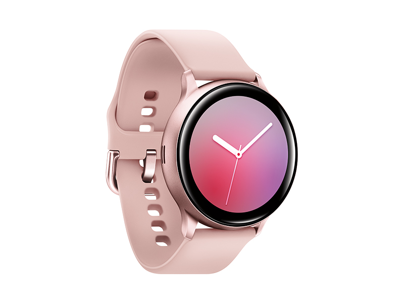 Samsung Galaxy Watch Active2 w/ enhanced sleep tracking analysis, auto workout tracking, and pace coaching (40mm), Pink Gold - US Version with ...