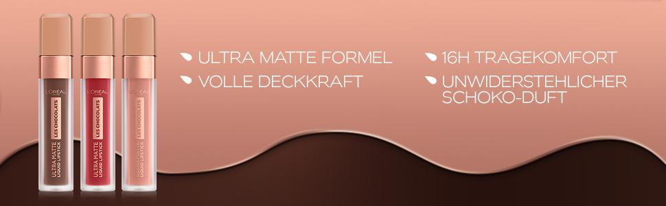 L'Oréal Paris Infaillible Ultra Matte Les Chocolats