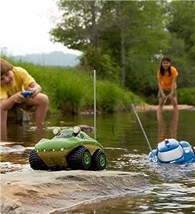 amphibian remote control truck amphibious radio control rc vehicle waterproof water remoto juegetes