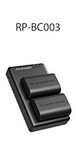 RAVPower Camera Batteries for Canon LP-E6