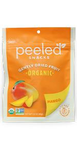 organic dried fruit mango